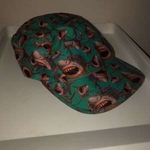 Other - Shark Attack 5 Panel Style hat